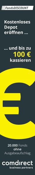 comdirect LP Aktion banner (bis zu 100??€ kassieren)